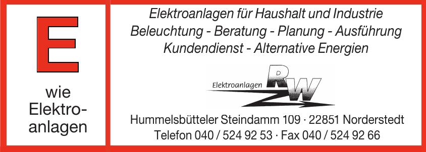 RW Elektroanlagen