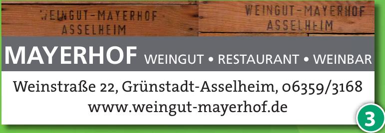Weingut Mayerhof