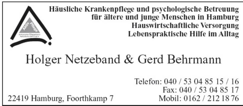 Holger Netzeband & Gerd Behrmann