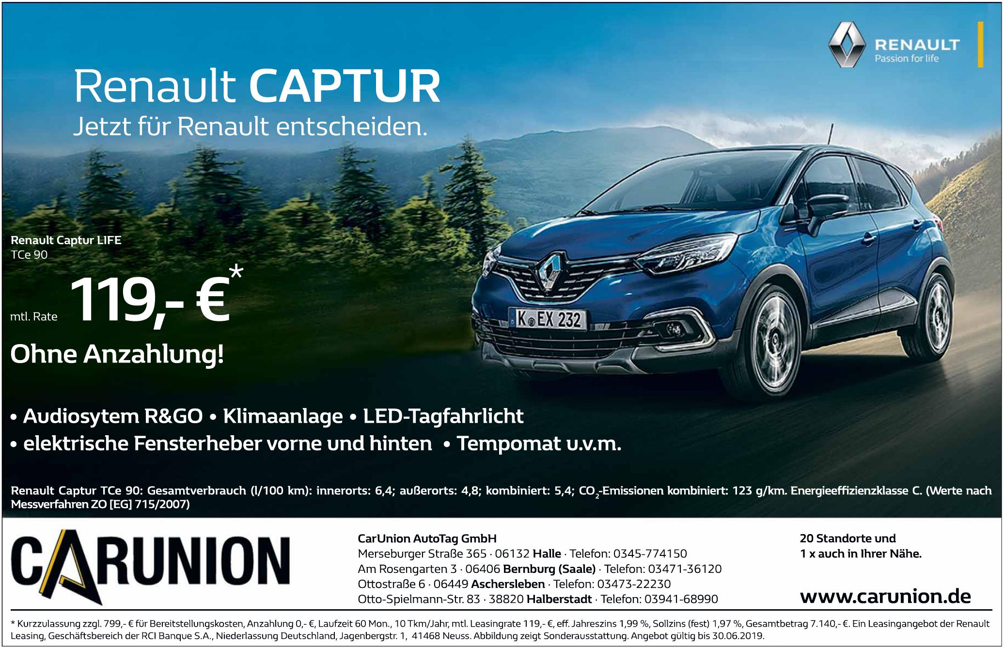 CarUnion Auto Tag GmbH