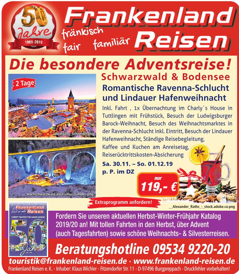 Frankenland Reisen e. K.