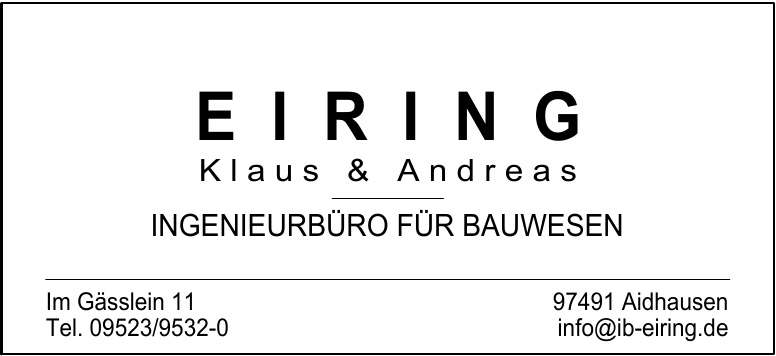 Einring Klaus & Andreas