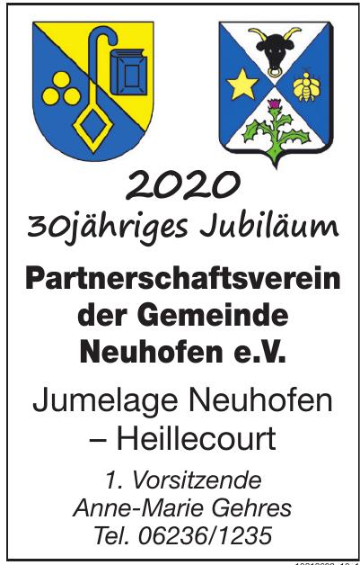 Partnerschaftsverein der Gemeinde Neuhofen e.V.