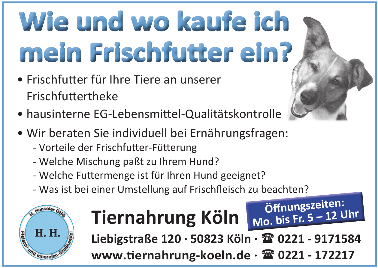 Tiernahrung Köln