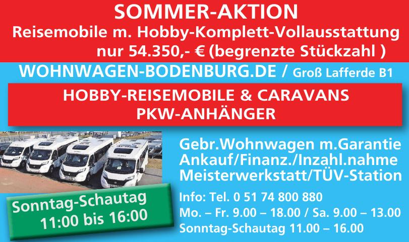 Wohnwagen Bodenburg