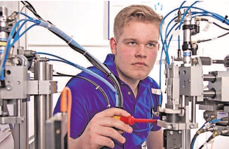 Für Industriemechaniker gibt es viele Chancen in der Region.
