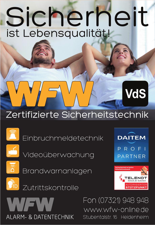 WFW Alarm- & Datentechnik