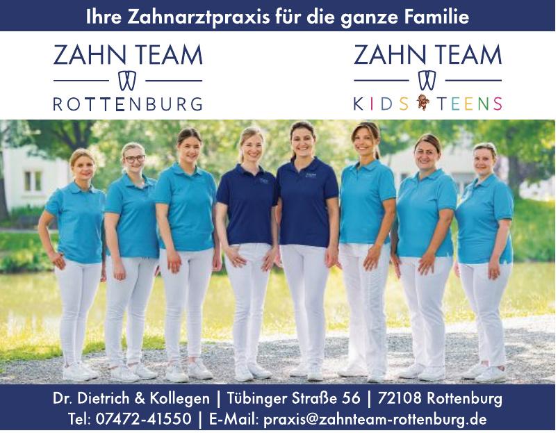 Zahn Team Rottenburg - Zahn Team Kids Teens
