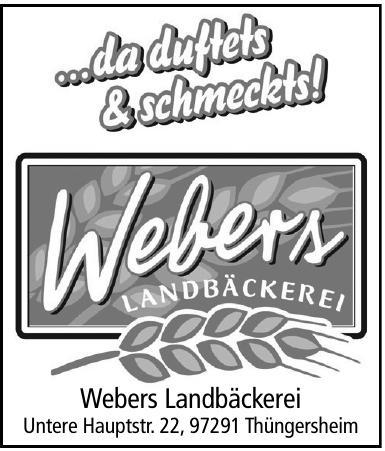 Webers Landbäckerei