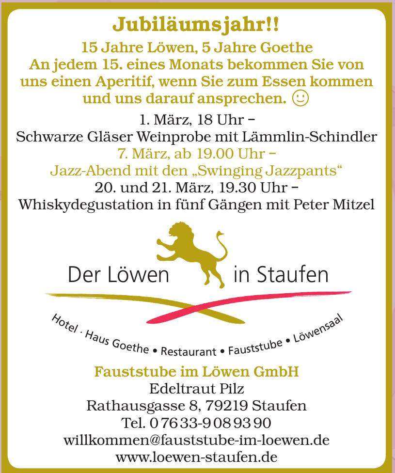 Fauststube im Löwen GmbH