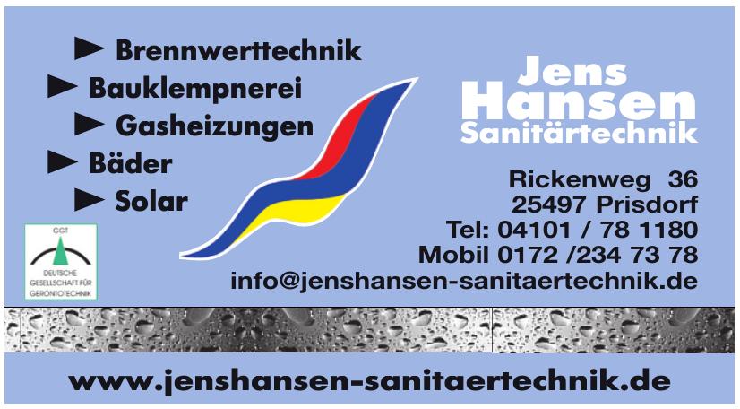 Jens Hansen Sanitärtechnik