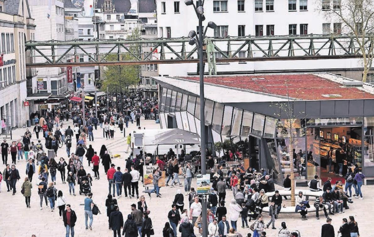 Die ISG will ihren Bereich der Innenstadt zum verlängerten Arm des neuen Döppersbergs machen.
