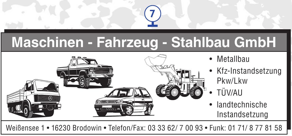 Maschinen - Fahrzeug - Stahlbau GmbH