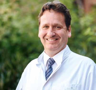 Prof. Dreinhöfer leitet die Klinik für Orthopädie und Unfallchirurgie in der Humboldtmühle.