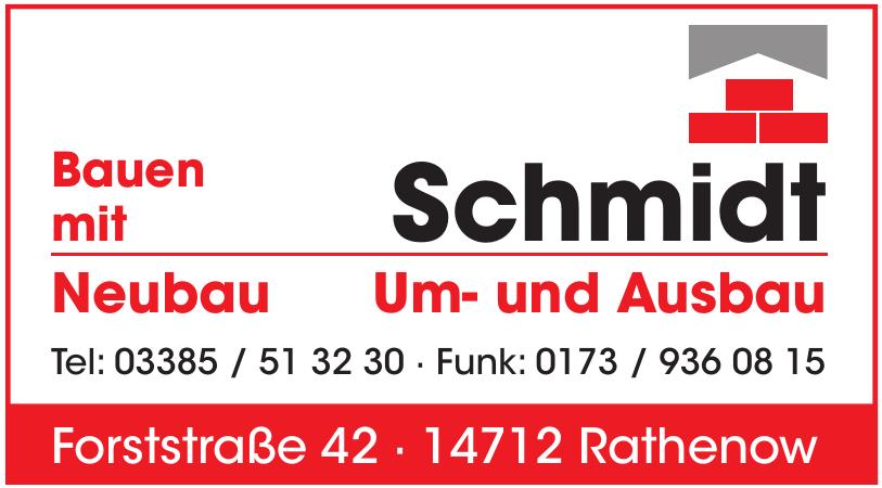 Schmidt Um- und Ausbau