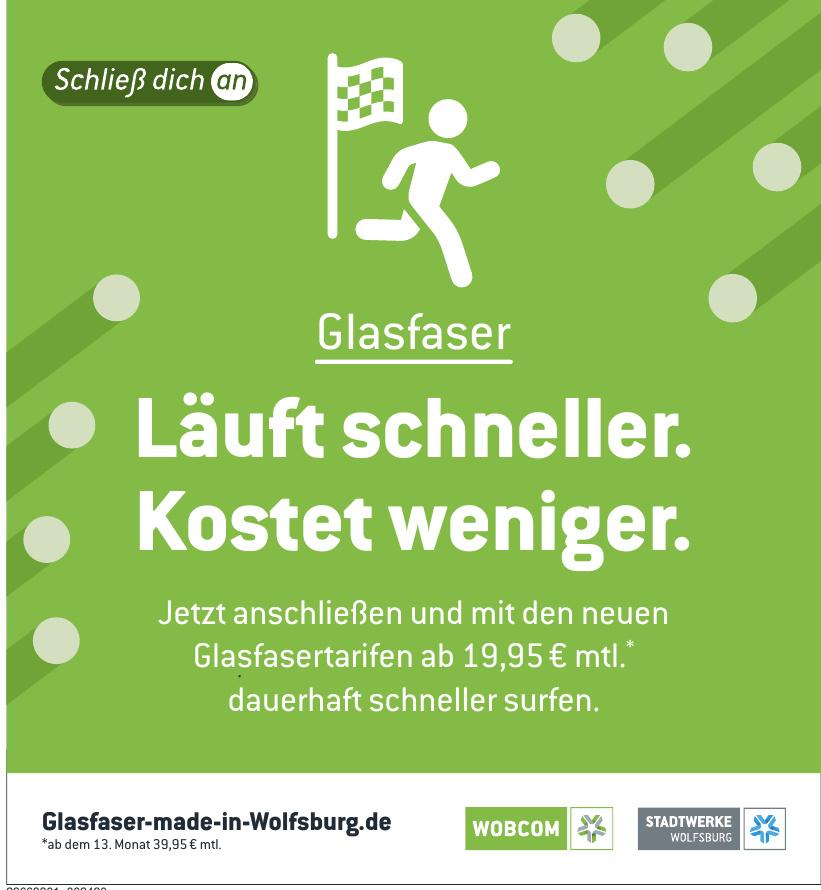 Glasfaser made in Wolfsburg