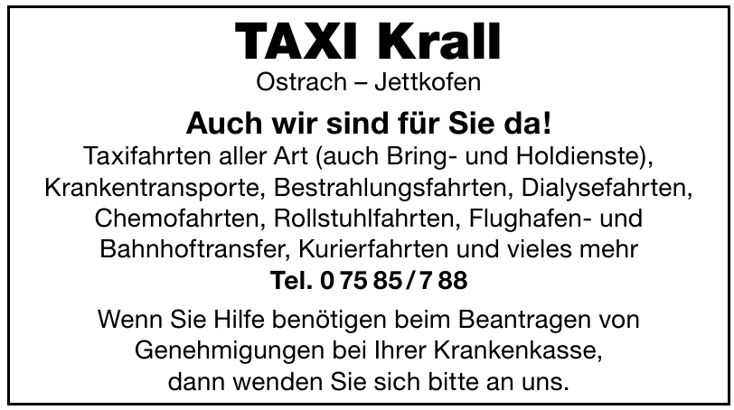 Taxi Krall