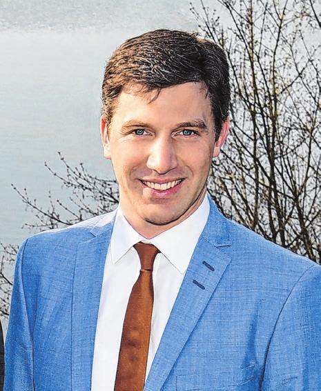 Christoph Hald, Bürgermeister der Gemeinde Gschwend.