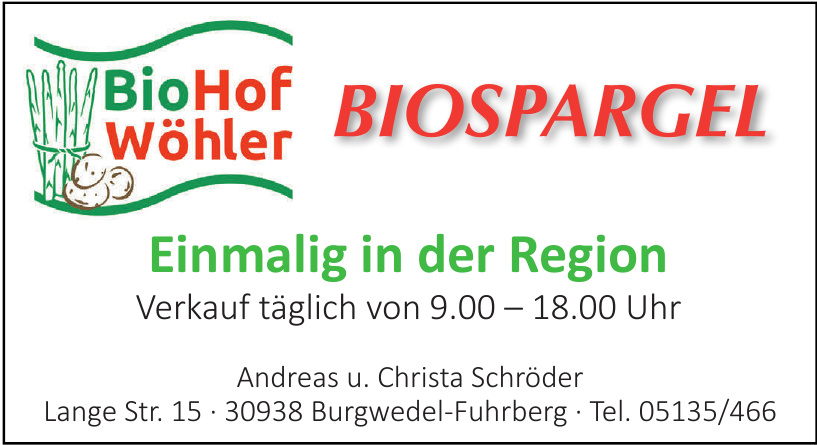 BioHof Wöhler