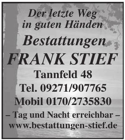 Bestattungen Frank Stief