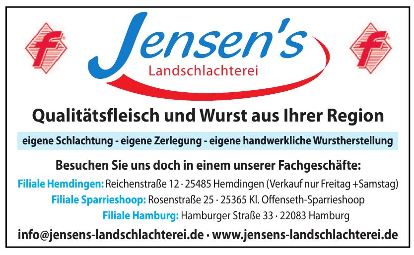 Jensen's Landschlachterei