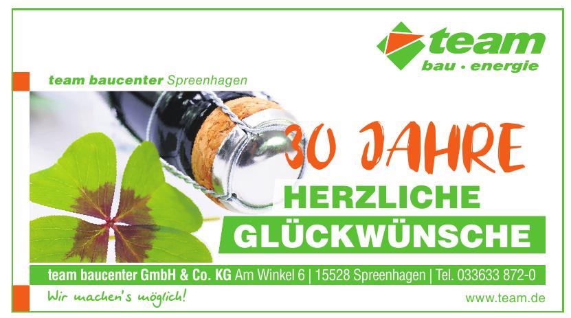 team baucenter GmbH & Co. KG
