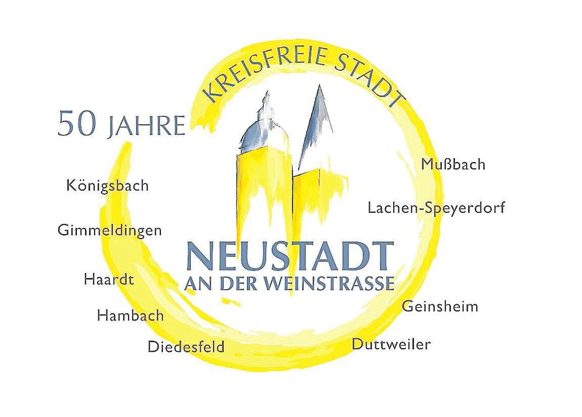 Alle zusammen: das Logo fürs Jubiläum.Foto: Stadt/frei