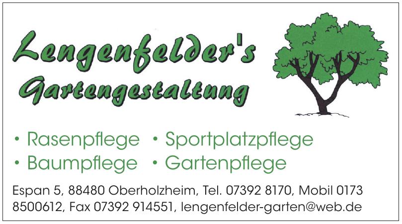 Lengenfelder´s Gartengestaltung