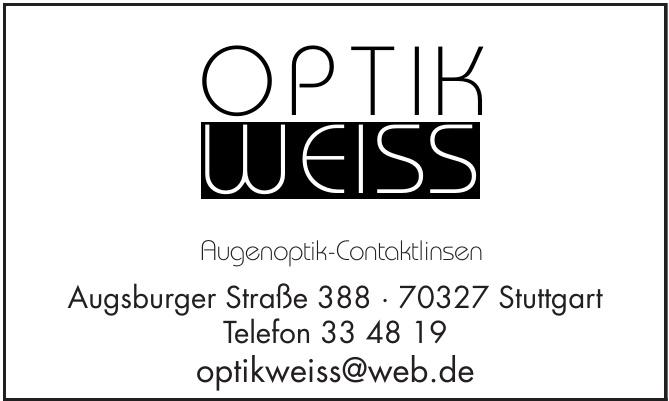 Optik Weiss