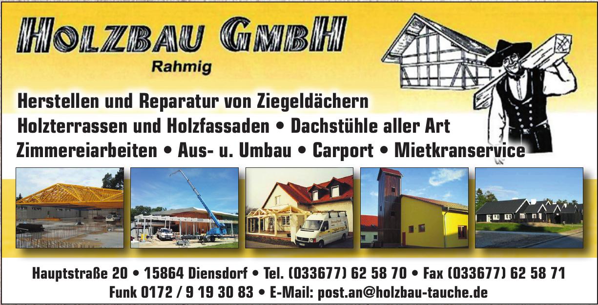 Holzbau Rahmig GmbH
