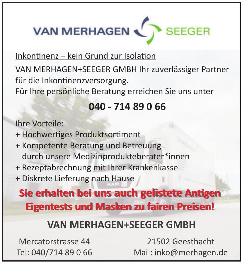 Van Merhagen + Seeger GmbH