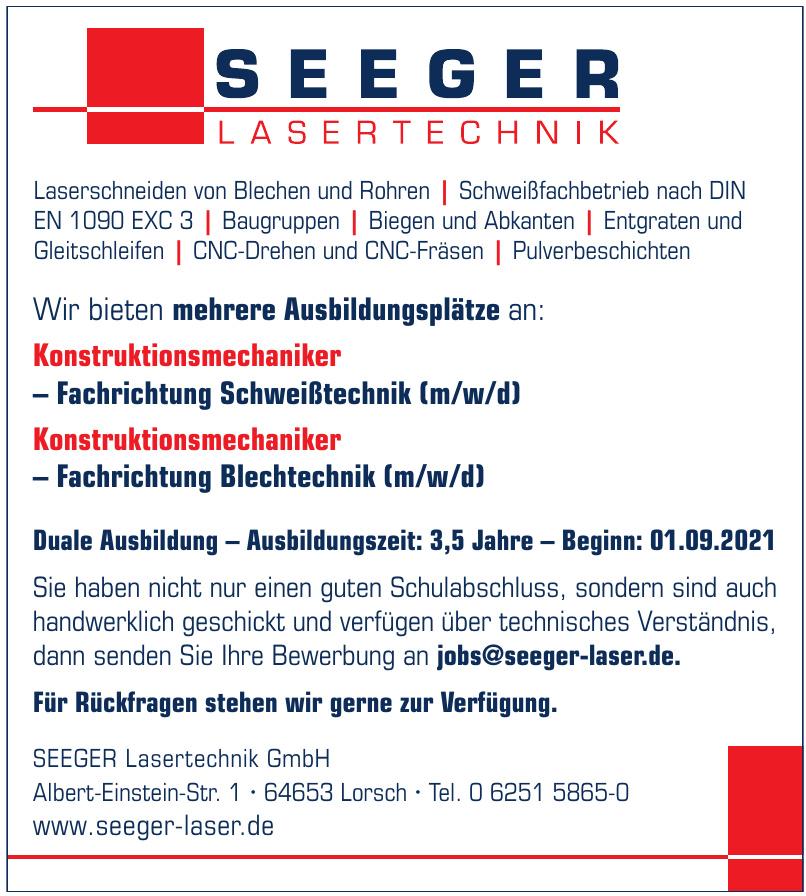 SEEGER Lasertechnik GmbH