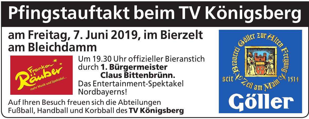 Pfingstauftakt beim TV Königsberg