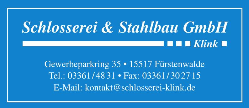 Schlosserei & Stahlbau GmbH Klink