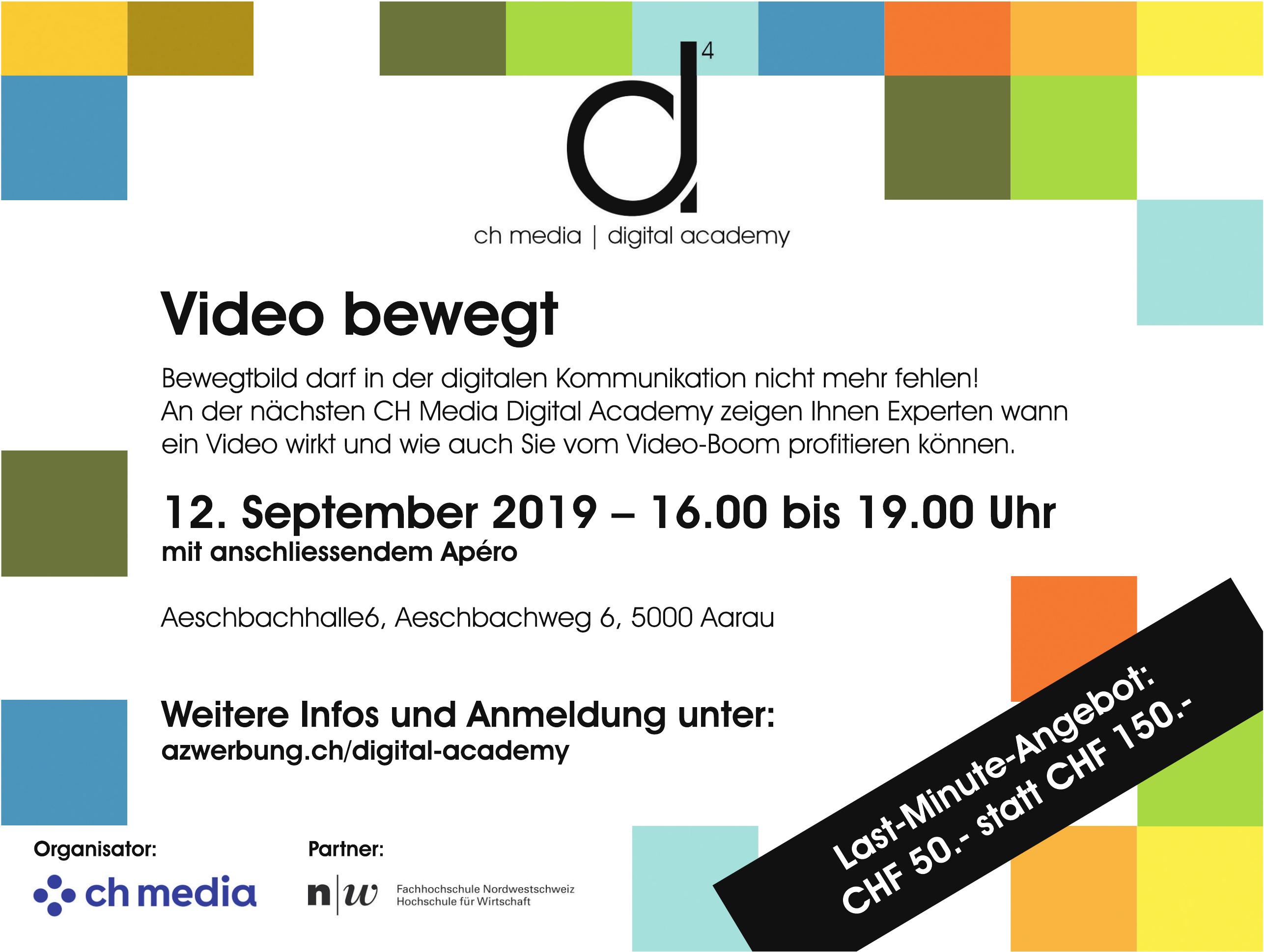 ch media / digital academy