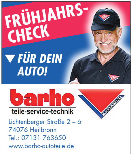 barho Autoteile-Service-Technik
