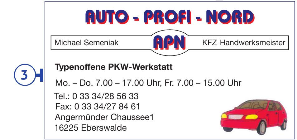 APN KFZ-Handwerksmeister