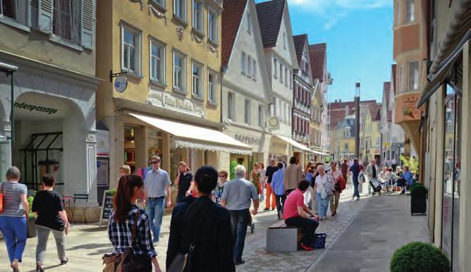 ... und die Fußgängerzone in der Wilhelmstraße. Foto: Andreas Böhm