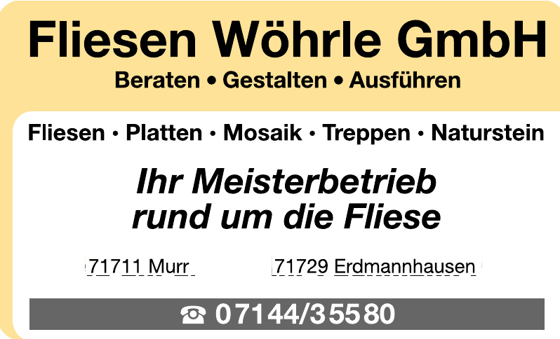 Fliesen Wöhrle GmbH