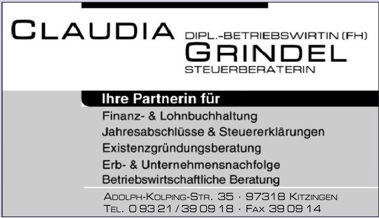 Dipl.-Betriebswirtin (FH) Steuerberaterin Claudia Grindel