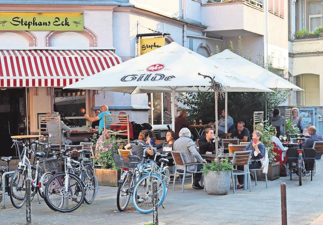 Das Stephans Eck ist eine der schönsten Ecken in der Südstadt.