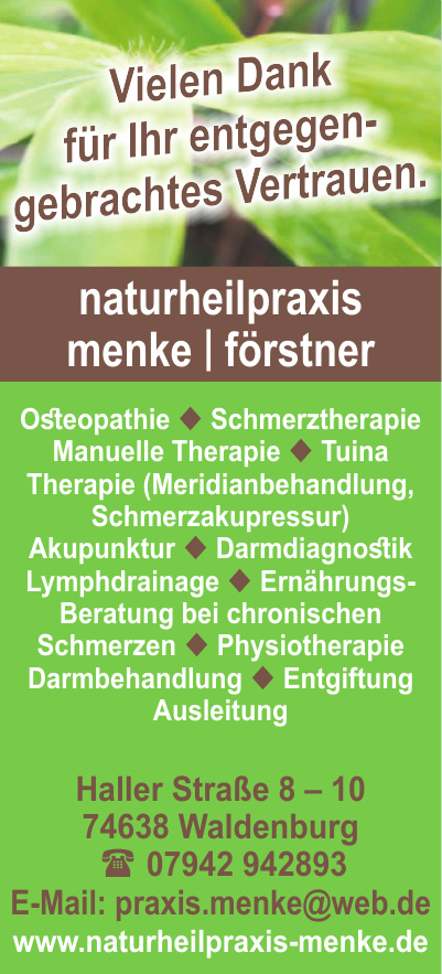Naturheilpraxis Menke & Förstner