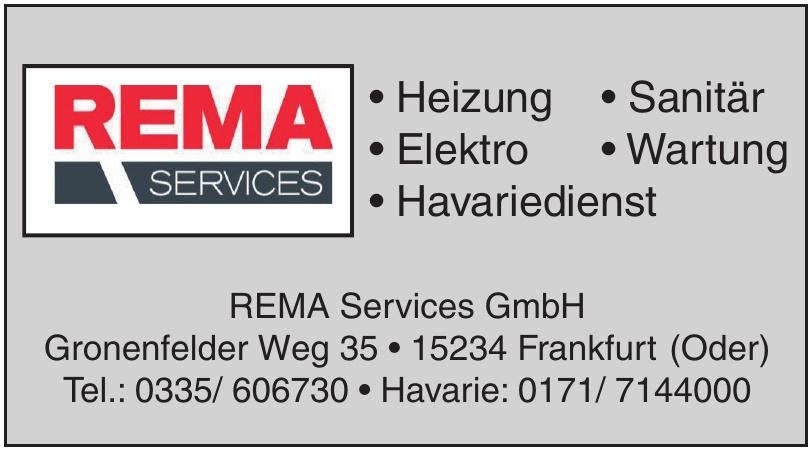 REMA Services GmbH