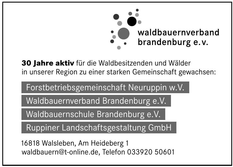 Waldbauernverband Brandenburg e.V.