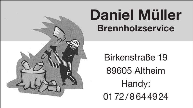 Daniel Müller Brennholzservice