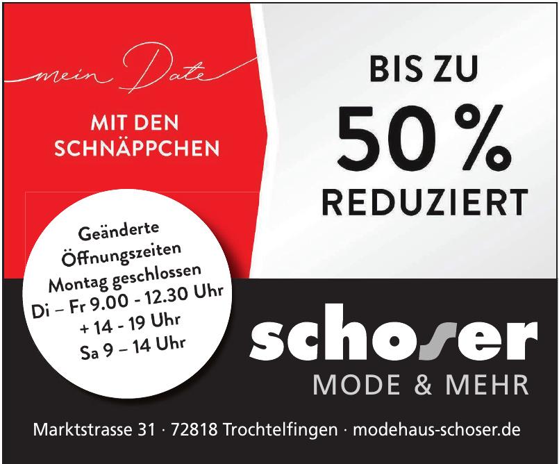 Modehaus Schoser GmbH