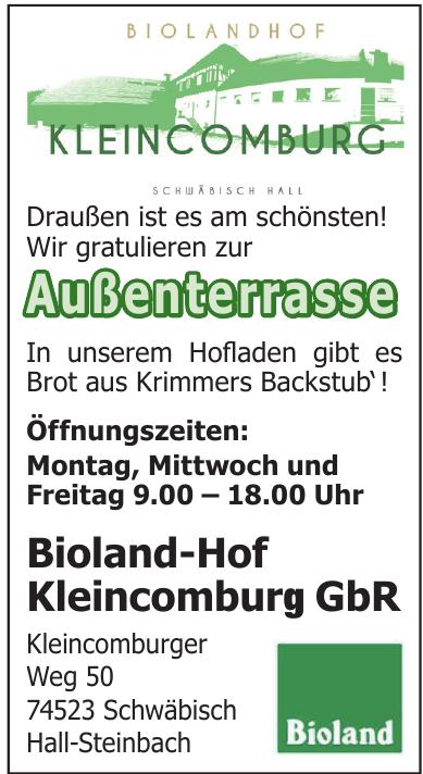 Bioland-Hof Kleincomburg GbR
