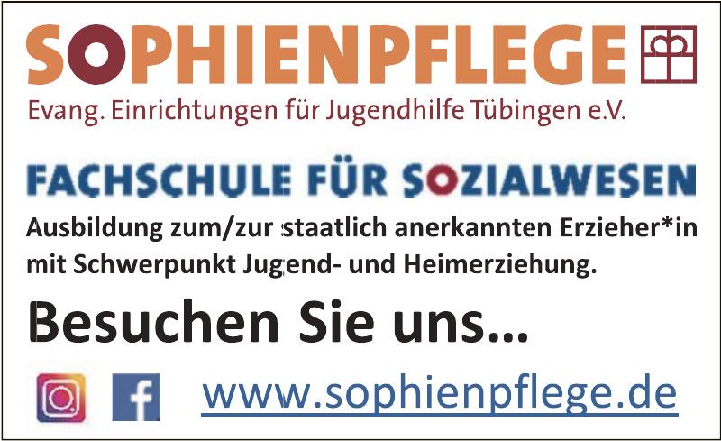 Sophienpflege - Evang. Einrichtungen für Jugendhilfe Tübingen e.V.