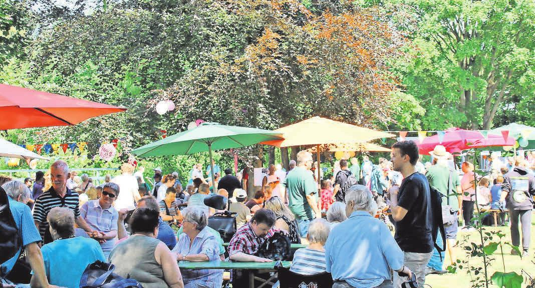 Mitmachen, zuschauen und genießen: Beim großen Sommerfest gibt es ein vielfältiges Programm für große und kleine Gäste.