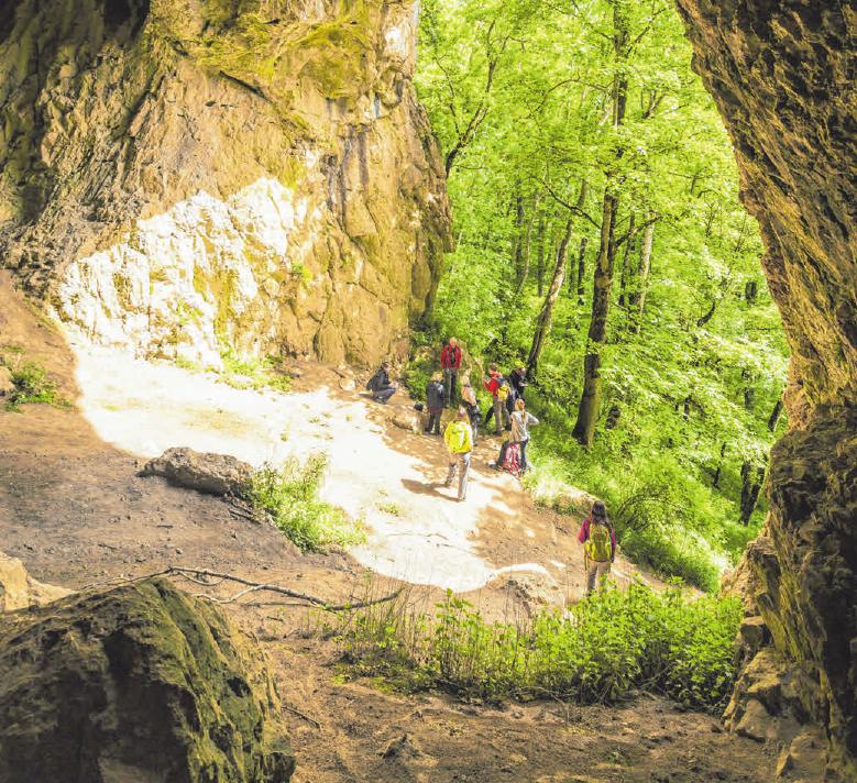 Höhlen üben eine ganz eigene Anziehungskraft aus. FOTO: RATHAY